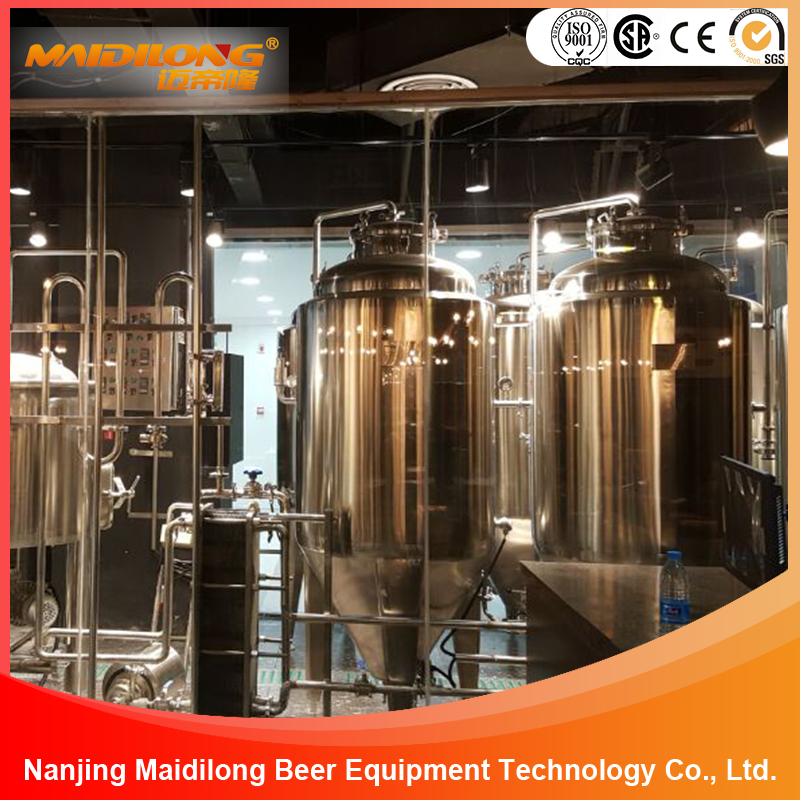 High quality Red Copper Craft Beer Brewery Equipment for sale