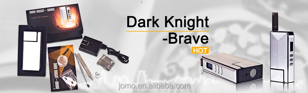 2015 New invention Jomo Dark Knight Brave 3 in 1 ceramic baking dry herb vaporizer jomo