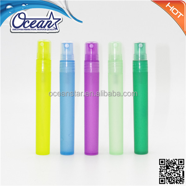 8ml/10ml waterless alcohol gel pen spray hand sanitizer bottle
