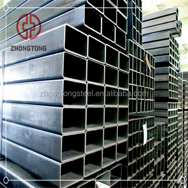 ASTM A500 Hot Rolled Hollow Section Tube Rectangular Tube Steel Pipe