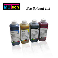 Eco solvent ink for PVC, Metal, Glass, Crystal, Leather, Ceramic, Plastic, Paper, Aluminum printing