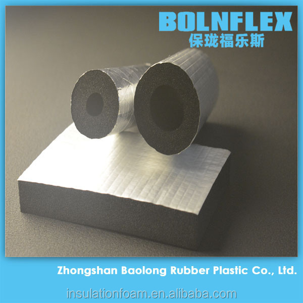Copper Pipe Insulation Foam Rubber And Air Conditioning Insulation Tube