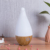 Elegant  aroma diffuser bamboo electric fragrance diffuser electric air freshener diffuser