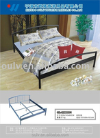 metal single or durable bed for oversea students