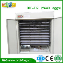 2640 capacity CE approved Fertilized chicken egg incubator /duck/parrot/quail/ostrich/emu/peacock egg