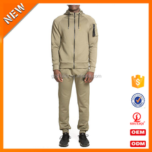 wholesale men orange tracksuit /custom training & jogging wear design your own tracksuit with factory price H-2319