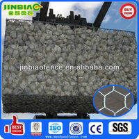 gabion stone cage/gabion wall construction/gabion wire baskets
