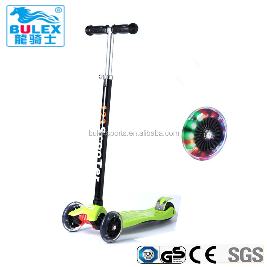 Top quality outdoor child toys big wheel kick scooter