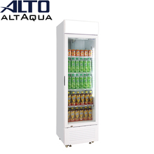 210W 300L single door upright cold drink refrigerator