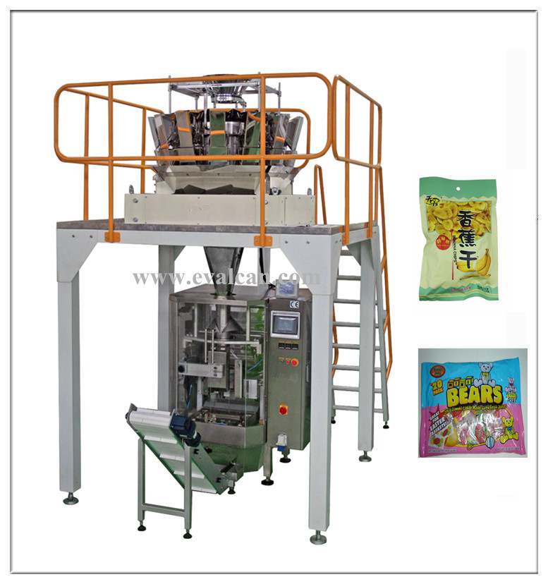 Automatic breakfast cereal filling packing machine