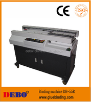 DB-55R binding machine with side glue with warranty, best quality side binding machine