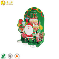 Handmade new year 3d decoration christmas greeting cards