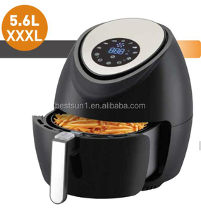 New Design Deep Air Fryer Cooker Comes With Recipes, CookBook, Timer, Temperature Control, LCD Touch Healthy Oil Free Cooking