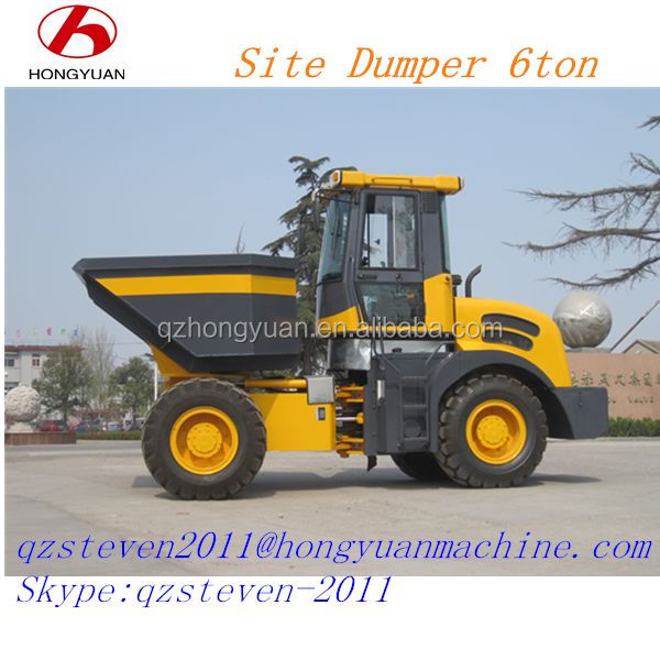 Earth moving equipment, Site Dumper with 80hp engine/farm tools and equipment