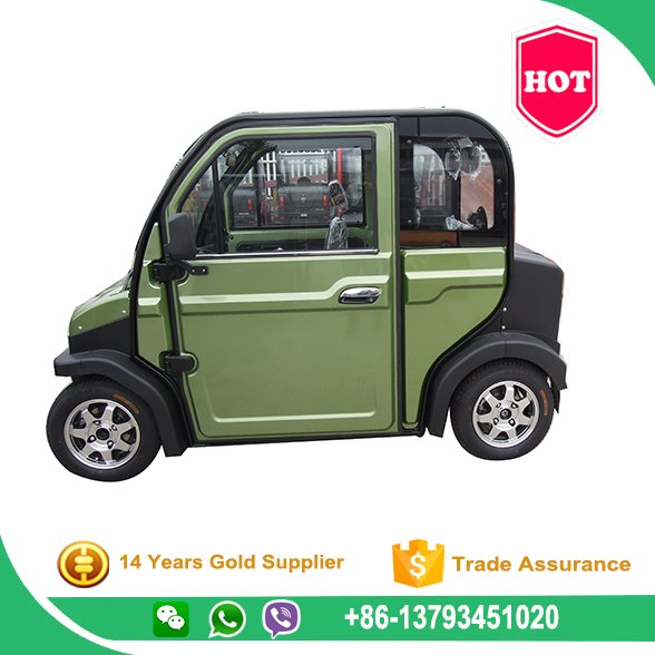 60v 3.0kw 4 Seat Small Cars Cheap Electric Cars Four Wheel Electric Car Vehicle For Sale With Eec Dot Certification
