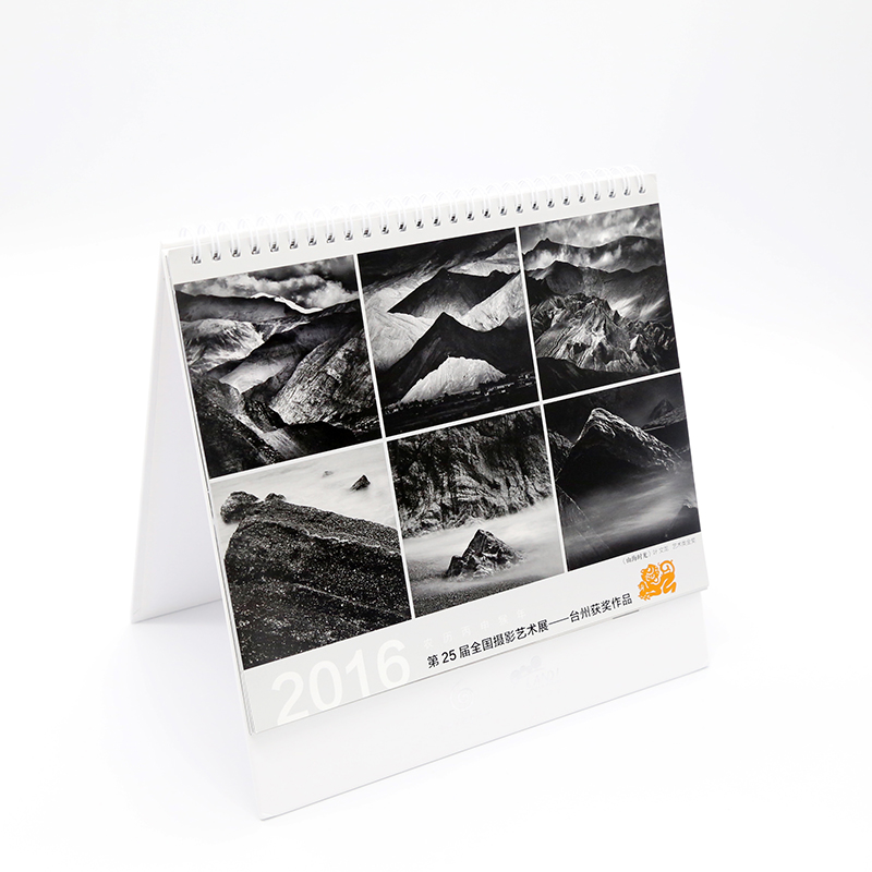 2019 wholesale white daily desk printing calendar