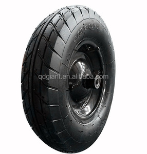 wheels for sand carts and barrow / cheap buggy tires 4.00-8