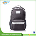 manufacturers in shenzhen fashion practical preppy style big zipper backpack