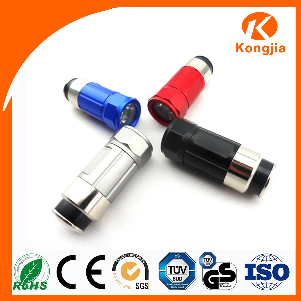 Colorful Bulk Sale 12V Rechargeable Charging Car Cigarette Led Flash Torch