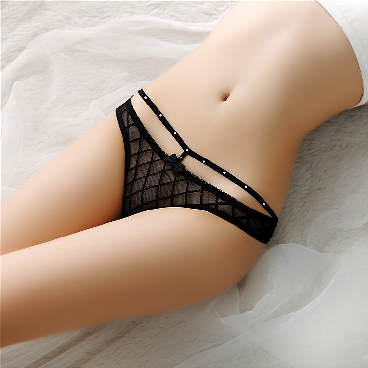 crystal diamond decorative hot sexy women micro thong