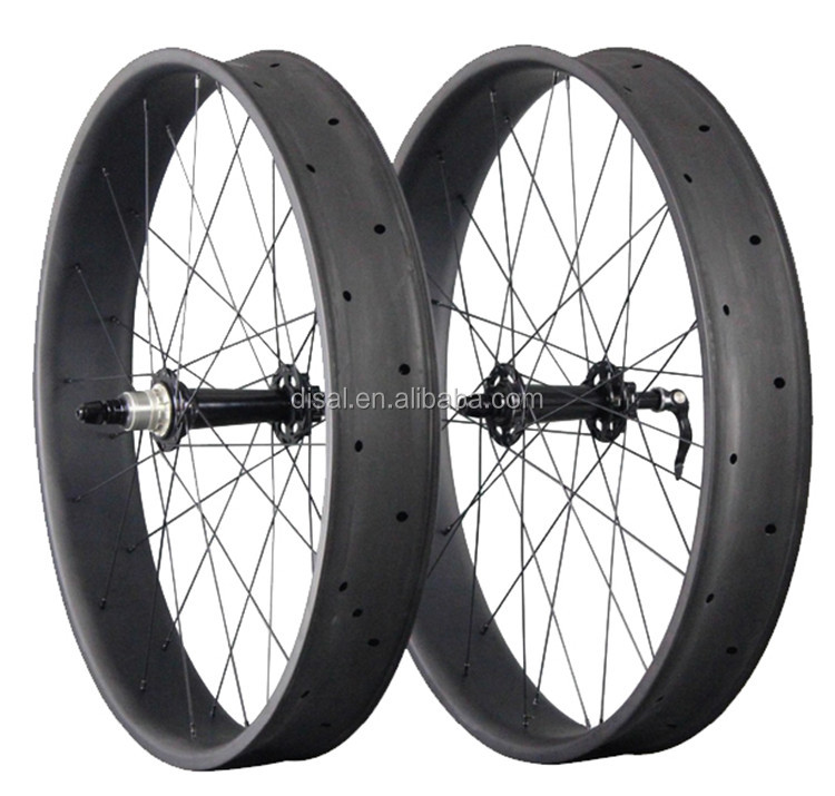 Carbon Fiber Beach Cruiser Wheel 26 Inch Carbon Wheels Mtb