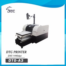 high-speed a3 dx5 digital cloth cloth banner printing machine