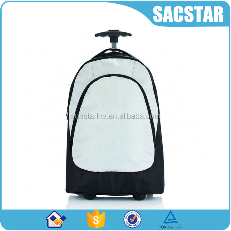 2016 NEW High class student wheeled backpack trolley school bags