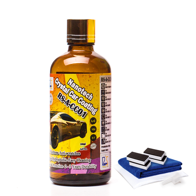 nano super hydrophobic anti scratch diamond 9H permanent ceramic car <strong>coating</strong> for car body 100ml
