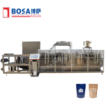 factory made salad dressing doypack with zipper packing machine