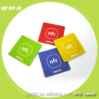 LAP-F NTAG213, NTAG215 passive 13.56mhz rfid Smart Label on Metal for NFC payment ( GYRFID )
