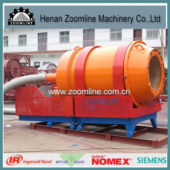 coal fired burner with rotary combustion chamber
