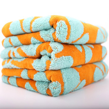Promotional top quality terry towel jacquard design