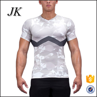 Custom dry fit 88%polyester 12% spandex sublimation sport t shirt