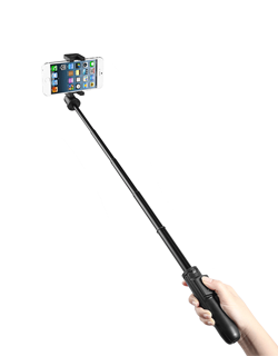 New Mini Portable Camera Remote Wireless Monopod Alloy Cellphone Foldable Tripod Bluetooth Selfie Stick