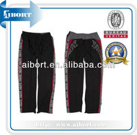 SUBPT-52-2 sublimated polyester/cotton mesh sports pants