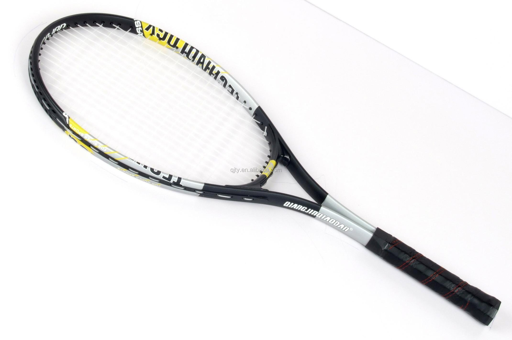 Hot selling aluminum tennis racket with cheap price