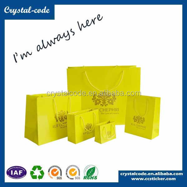 Wholesale best sales europe recycled paper bags hs code