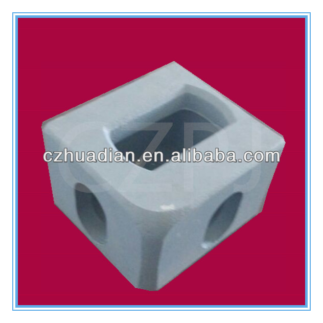 CZPJ-001 BL BR TL TR cargo spare parts container corner fittings casting