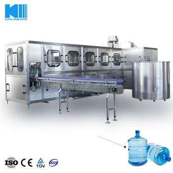 2017 New design Automatic pure water 5 gallon filling machine in China