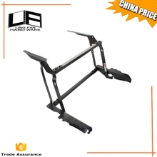 Lift up metal coffee table frame with spring assist / table lifting mechanism /save space table frame