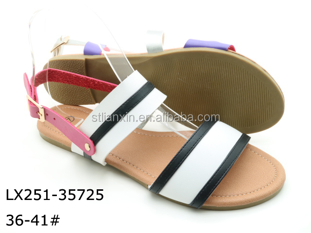 Latest slippers fashion ladies girls high pictures no heel sandals