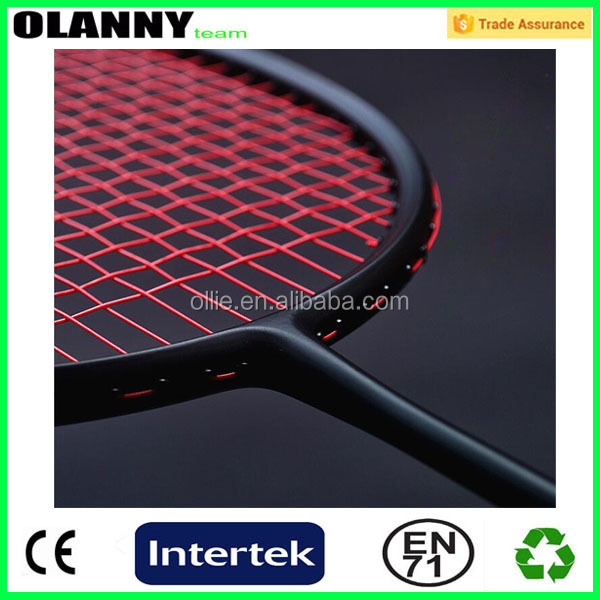 Factory price professional carbon fiber badminton racket