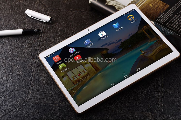 MTK6580 Tablet Pc Quad Core 1GB RAM 32GB ROM Android 5.1 OS 9.6 inch 1280*800 IPS WCDMA 3G GPS Phablet