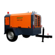 7 bar mobile air compressor with jackhammer 125 cfm