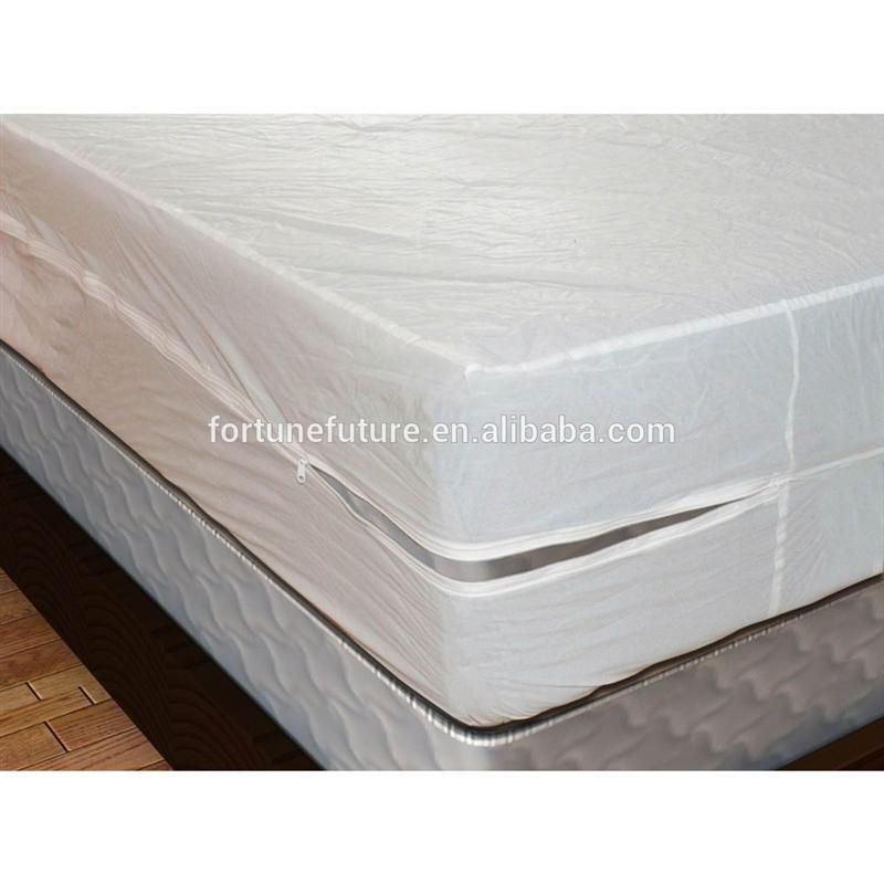 New design quality vinyl leather mattress protector with low price