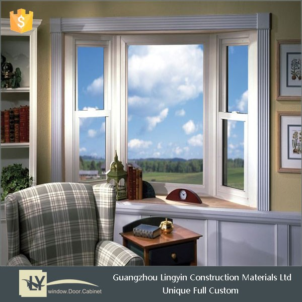 Best selling tilt and turn window with 2 handles open outward in european