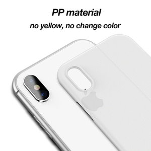 CAFELE Newest Matte Original Ultra thin Skin Light Cover for iphone x PP Slim Cell phone case For apple Iphone 7 8 plus 10