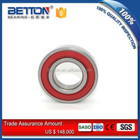 Rubber Sealed Radial Bearing 6206-2RS Deep Groove Ball Bearing