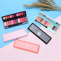 1PC Professional Brand Warm Eyeshadow for Women Long Lasting Waterproof Mineral Powder Nude Shimmer Eye Shadow Palettes