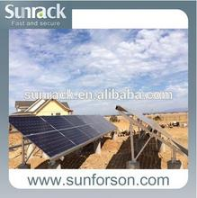 Power Plant Installation Solar PV Support Mount